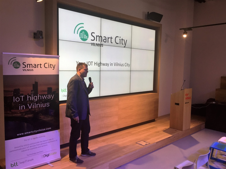 "SmartCityVilnius participated in the event: ""IoT business cases for Lithuania event"""