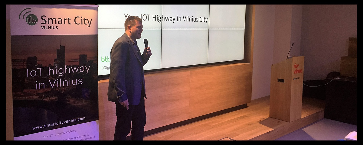 """SmartCityVilnius participated in the event: """"IoT business cases for Lithuania event"""""""
